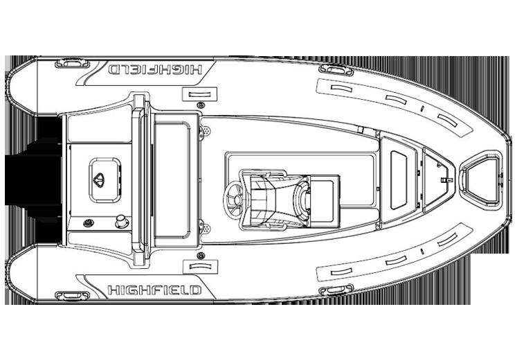 dl420 ocean master highfield swift marine rib boat zodiac