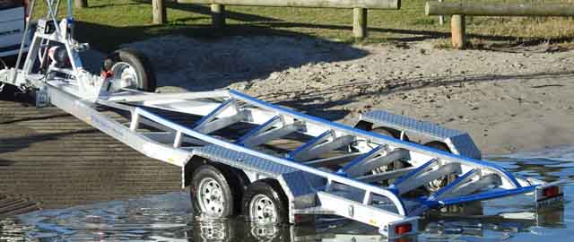swift aluminium trailers boat toy box flat bed